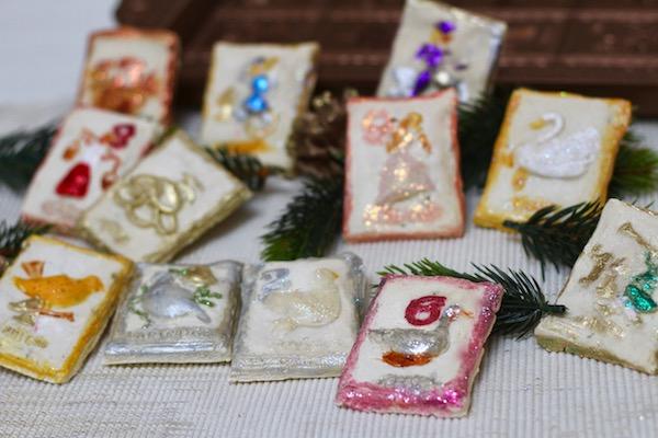 12 Days Of Christmas Rosemary Springerle Cookies Diary